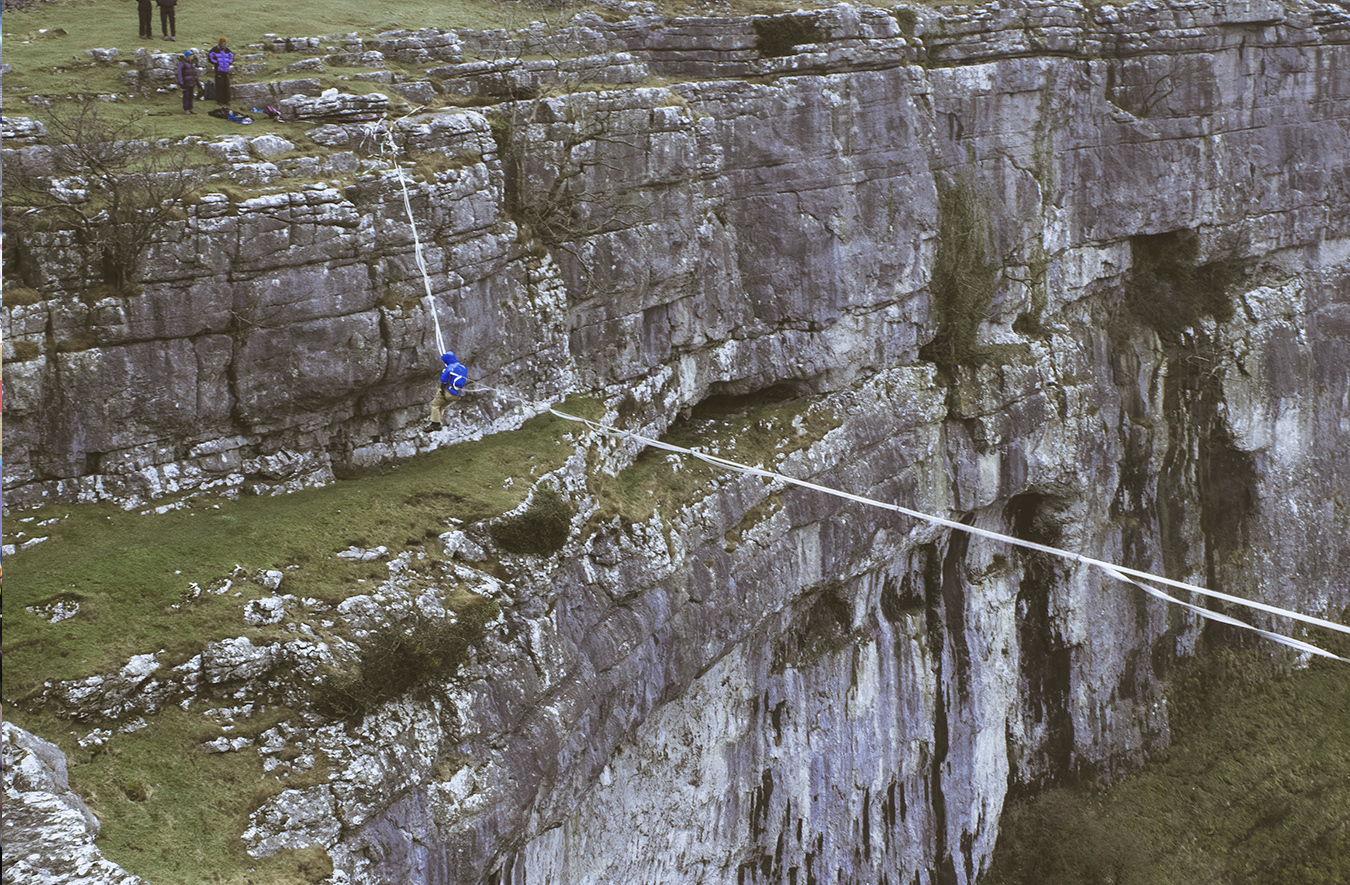 Bouldering with Steve McClure on Yorkshire Limestone's image