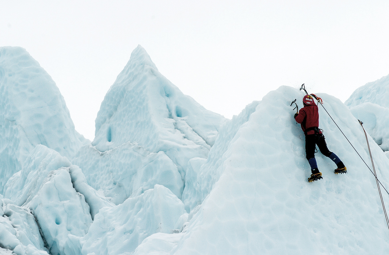 Climbing with Tim Emmett in Yukon, Canada's image