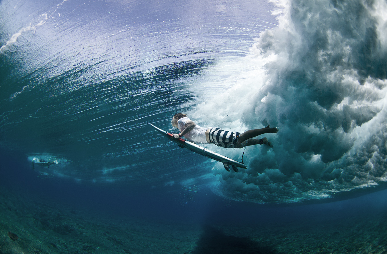 Surfing with Jamie Mitchell on the North Shore of Oahu, Hawaii's image